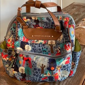 Lily Bloom Who Let The Dogs Out Mini Backpack